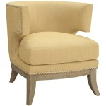 Accent Seating Barrel Back Upholstered Accent Chair