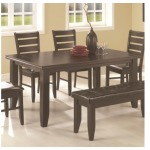 Page Contemporary Rectangular Semi-Formal Dining Table