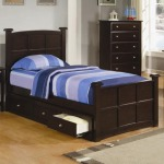 Jasper Twin Storage Bed with Drawers