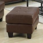 Samuel Chair Ottoman w/ Cushioned Top