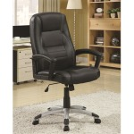 Casual Black Office Chair