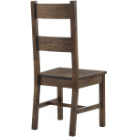 Coleman Dining Side Chair Rustic Golden Brown