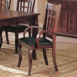 Newhouse Arm Chair with Faux Leather Seat