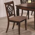 Dining 10339 Upholstered Dining Chair with Decorative Seat Back