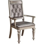 Danette Upholstered Arm Chair with Tufted Back