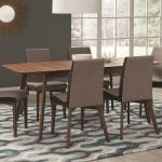 Redbridge Mid-Century Modern Five-Piece Dining Set