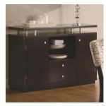 Libby 2 Door Dining Server Buffet with Floating Top