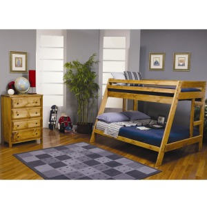 Wrangle Hill Twin Over Full Bunk Bedroom Group