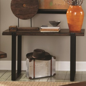 70342 Sofa Table with Two Tone Finish