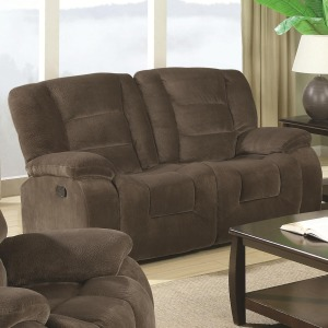 Charlie Casual Styled Double Reclining Love Seat