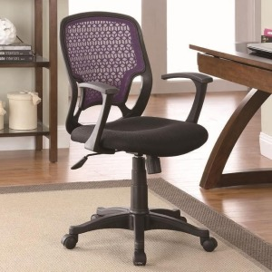 Office Chairs Contemporary Mesh Office Chair with Adjustable Seat Height
