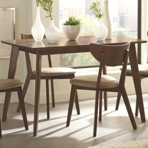Kersey Dining Table with Angled Legs
