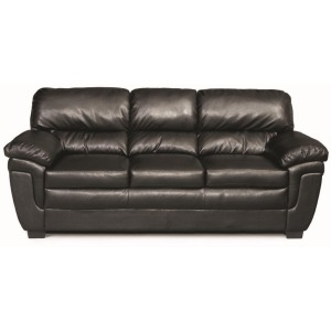 Fenmore Casual Split Back Leather-Like Sofa