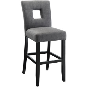 Andenne Grey Upholstered Counter Height Stool