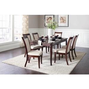 Cornett Transitional Dark Brown Dining Table