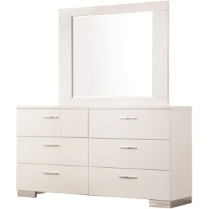 Felicity Dresser with 6 Drawers and Mirror