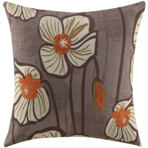 Throw Pillow - Purple Floral