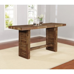 Tucson Rustic Varied Natural Bar Table