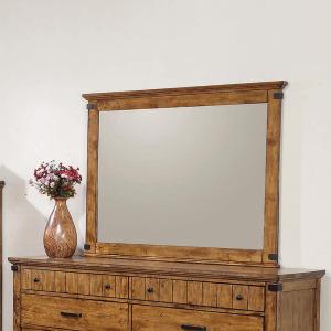 Brenner Rustic Honey Mirror
