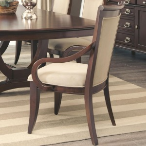 Alyssa Dining Arm Chair with Upholstered Seat Back