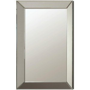 Accent Mirrors Contemporary Frameless Beveled Mirror