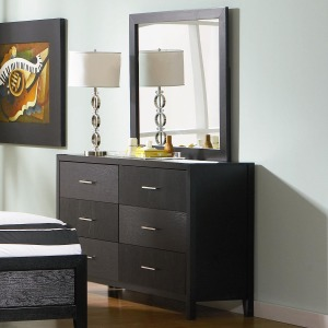 Grove Dresser and Mirror Set