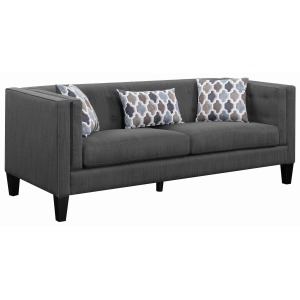 Sawyer Modern Sofa with Track Arms