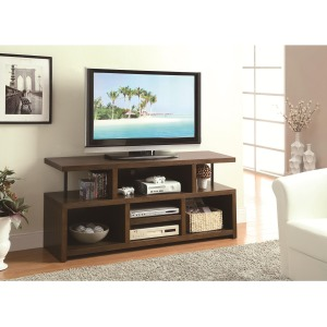 TV Stands Casual TV Console with Open Storage
