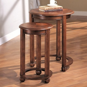 Nesting Tables 2 Piece Round Nesting Tables