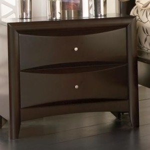Phoenix 2 Drawer Nightstand