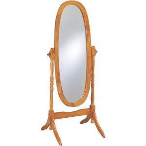 Oval Cheval Honey Mirror