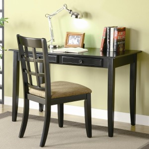 Desks Table Desk with Two Drawers & Desk Chair