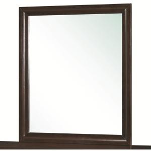 Bryce 20347 Rectangular Mirror with Wooden Frame