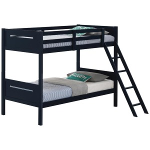 Twin/Twin Bunk Bed - Blue