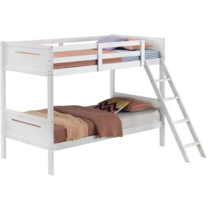 Littleton Twin/Twin Bunk Bed White
