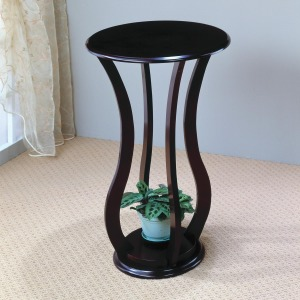 Accent Stands Round Plant Stand Table
