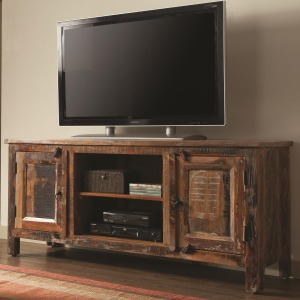 Accent Cabinets Reclaimed Wood TV Stand