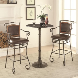 Oswego Pub Table Set with Bar Stools