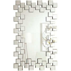 Accent Mirrors Frameless Contemporary Wall Mirror
