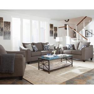 Salizar Transitional Light Grey Chair