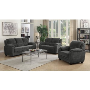Northend Casual Charcoal Chair