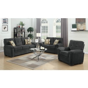 Fairbairn Casual Charcoal Sofa