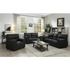 Ballard Casual Charcoal Sofa