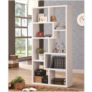 Bookcases Multiple Cubed Rectangular Bookshelf