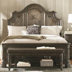 Carlsbad King Panel Bed with Framing