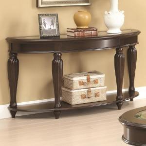 70384 Console Table w/ Lower Shelf
