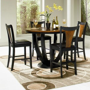 Boyer 5 Piece Counter Height Table and Chair Set