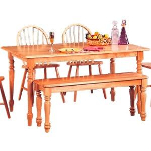 Damen Rectangle Leg Dining Table