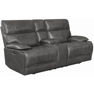 Standford Casual Charcoal Power^2 Loveseat