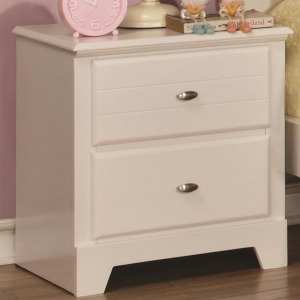 Ashton Collection Night Stand with 2 Drawers